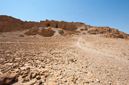 Big Caves  in the Judean Desert Stock Photo - 16857999