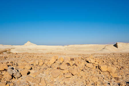 Canyon in the Judean Desert on the West Bank  Stock Photo - 16857250