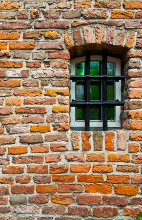 Green  Window of Old Building in Netherlands photo