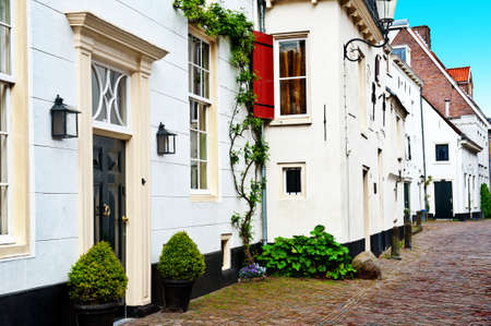 Street in the Dutch Medieval City photo