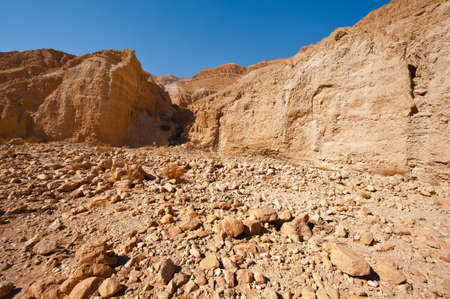 Canyon in the Judean Desert Stock Photo - 16990611