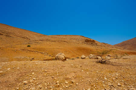 Big Stones in Sand Hills of Samaria, Israel Stock Photo - 16990584