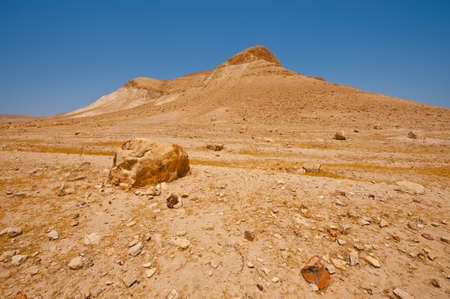 Big Stones in Sand Hills of Samaria, Israel Stock Photo - 16990591