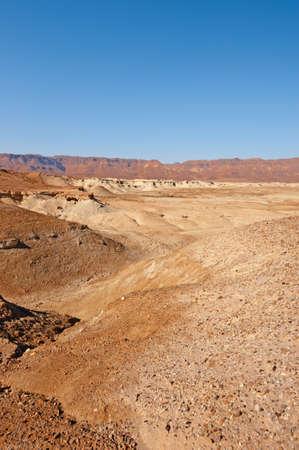 Desert on the West Bank of the Jordan River Stock Photo - 17173944