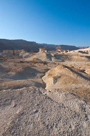 sapless: Paesaggio cosmico del deserto della Giudea in Cisgiordania