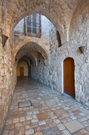 Narrow Alley in the Armenian Quarter of Jerusalem Stock Photo - 17220789