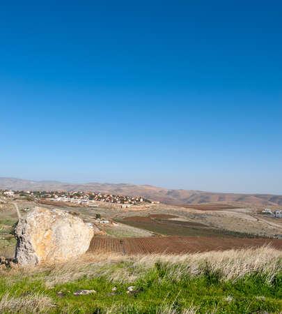 Jewish Settlement in the Judean Mountain Stock Photo - 17173971