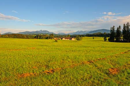 Farmhouse in the Bavarian Alps, Germany photo