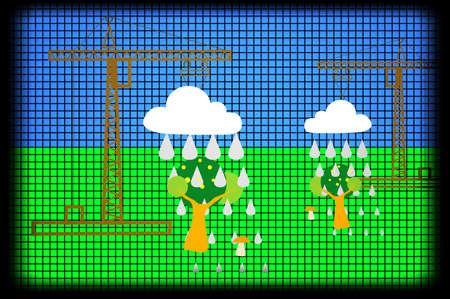 irrigation: Irrigation Icon on Black Background