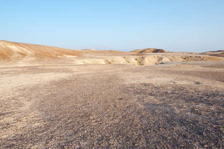 nature reserves of israel: Judean Desert on the West Bank of the Jordan River