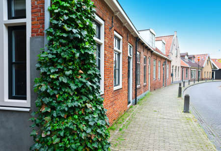 Street in the Dutch Medieval City