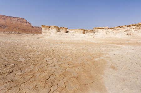 judean desert: Desert on the West Bank of the Jordan River