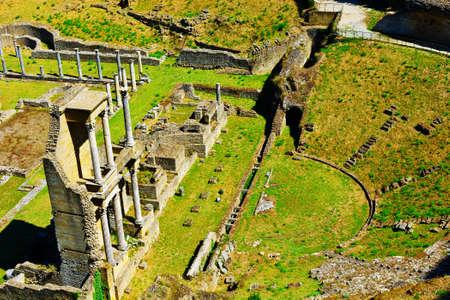 volterra: Antique Roman Theater in Volterra, Tuscany, Italy