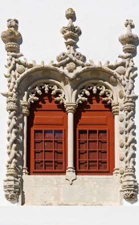 resplendence: Portuguese Window in the Style of Manueline