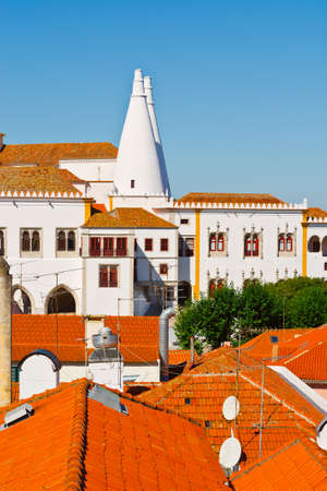 View to Historic Center City of Sintra, Portugal photo