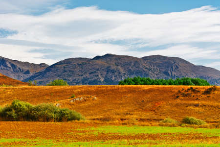 cantabrian: View of the Cantabrian Mountains, Spain Stock Photo