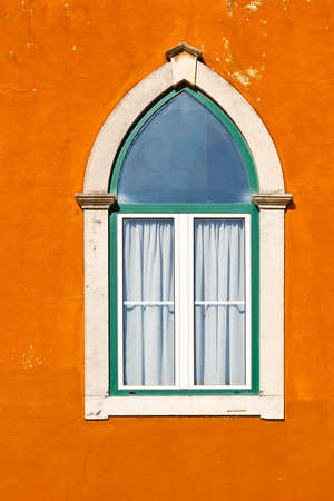 resplendence: Lancet Window of the Old Portugal House