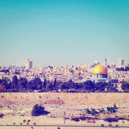 Dome of the Rock  in Old City of Jerusalem photo