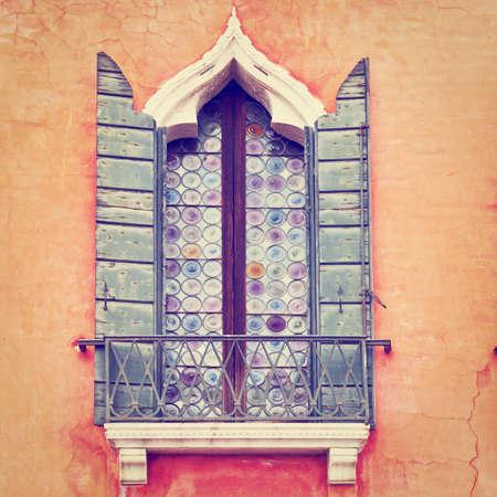 Venetian Window on the Facade photo
