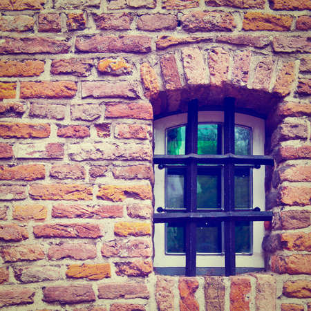 Window of Old Building in Netherlands photo