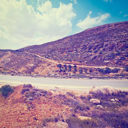 samaria: Meandering Road in Hills of Samaria