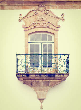 castings: Portuguese Window with a balcony in the Style of Manueline