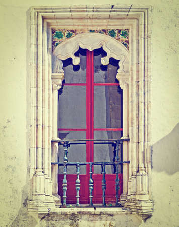 resplendence: Portuguese Window with a Balcony in the Style of Manueline