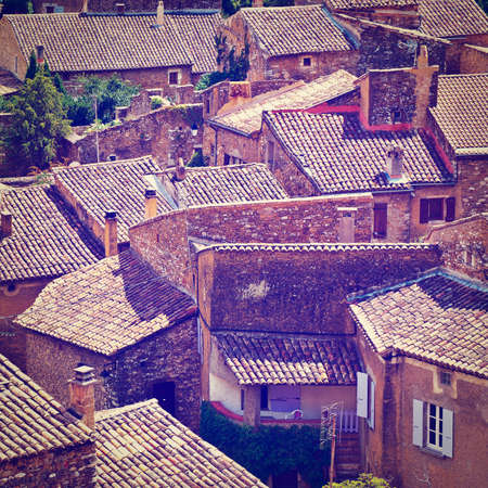 renewed: Birds Eye View on the French Town of Saint-Montan