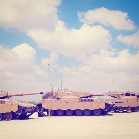 Memorial Site and the Armored Corps Museum in Latrun, Israell photo