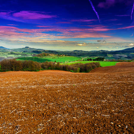 apennines: Sunset over the Slopes of the Apennines, Italy