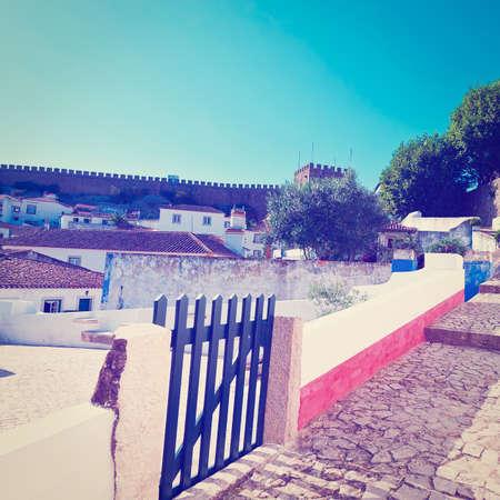 Historic Center City of Obidos, Portugal photo