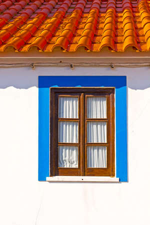 renovated: Renovated Facade of the Old Portugal House