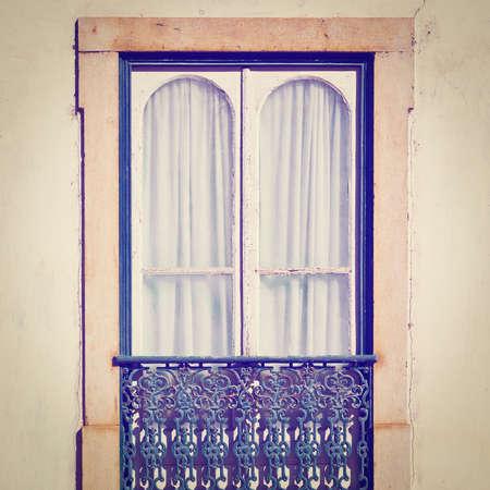 resplendence: Facade of the Old Portugal House, Instagram Effect