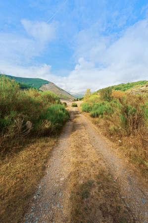 cantabrian: Dirt Road in the Cantabrian Mountains, Spain