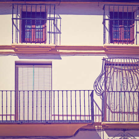 resplendence: Facade with Balcony of the Old Spain House, Instagram Effect