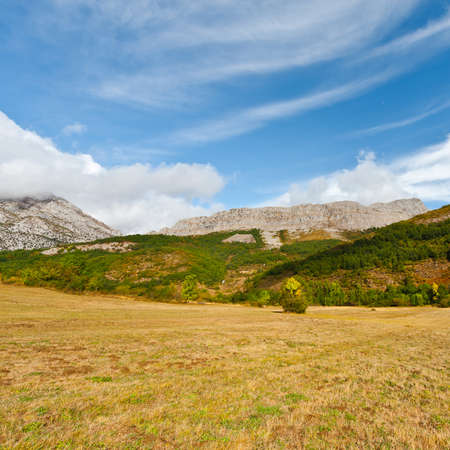 cantabrian: View of the Cantabrian Mountain, Spain