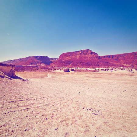 judean desert: Judean Desert on the West Bank of the Jordan River