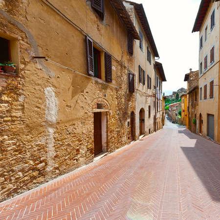 deserted: Deserted Street of the Italian City