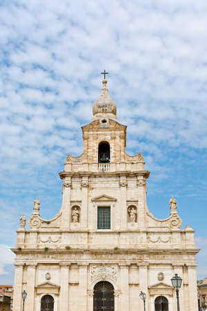 ragusa: Catholic Church in the Sicilian city of Ragusa Stock Photo