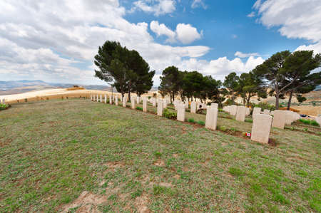military cemetery: Canadian Military Cemetery in Sicily, Italy