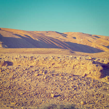 nature reserves of israel: Rocky Hills of the Negev Desert in Israel,