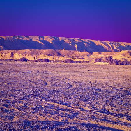 negev: Rocky Hills of the Negev Desert in Israel,