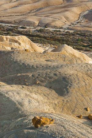 negev: Rocky Hills of the Negev Desert in Israel