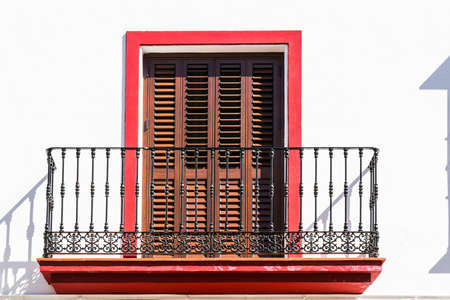 renovated: Renovated Facade of the Old Spain House
