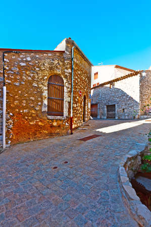 deserted: Deserted Street of the Medieval French City
