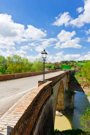 the old road: Old Road Bridge in Tuscany