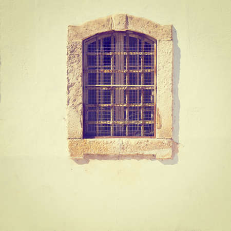 resplendence: Window in the Wall of Portuguese Home, Instagram Effect