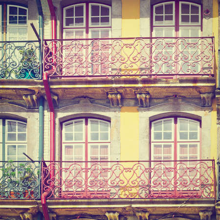 resplendence: Facade of the Old  Portuguese House
