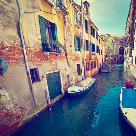 canal street: The Narrow Canal- Street in Venice