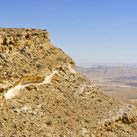 west bank: Canyon in the Judean Desert on the West Bank of the Jordan River